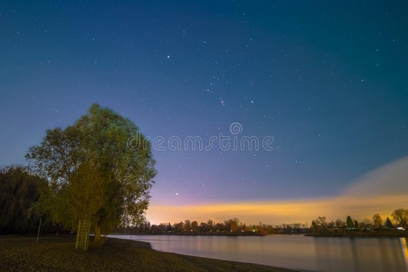 Orion Constellation royalty-vrije stock fotografie
