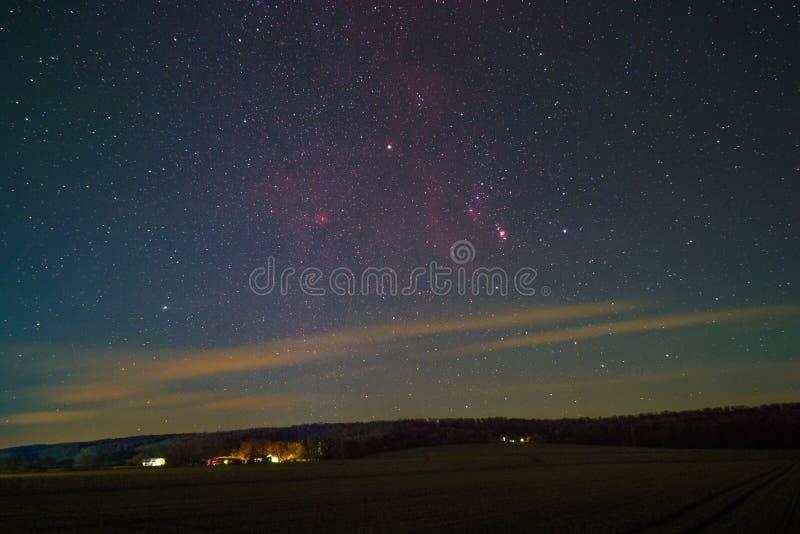 Orion Constellation arkivfoton