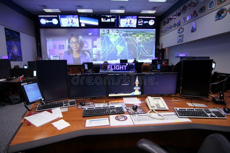 Orion Mission Control Center stock fotografie