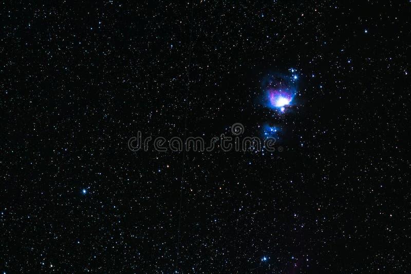 Orion-Nebelfleck stockfotos