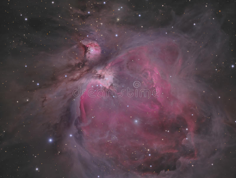 Orion Nebula photos stock