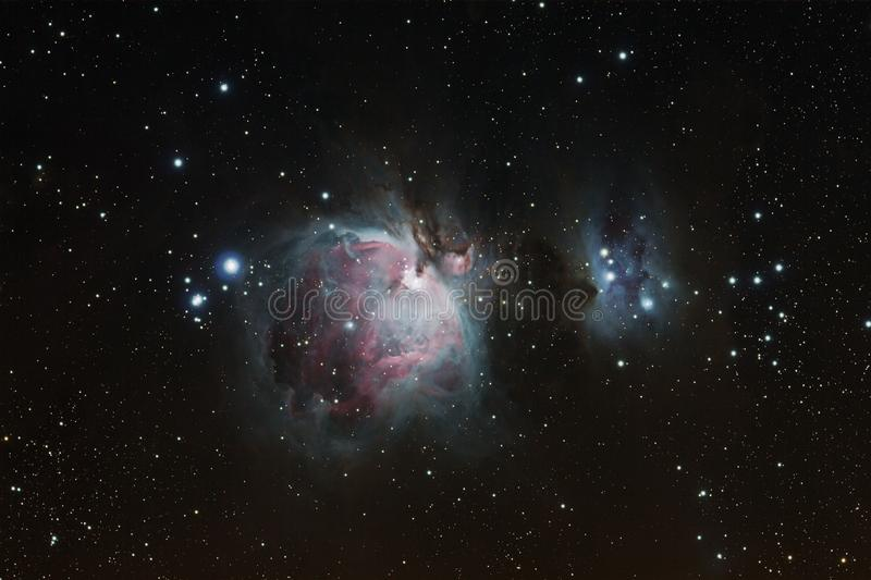 Orion Nebula fotografia stock libera da diritti
