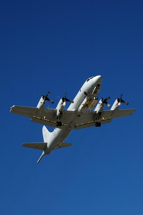 Orion p-3 Vliegtuigen stock afbeeldingen