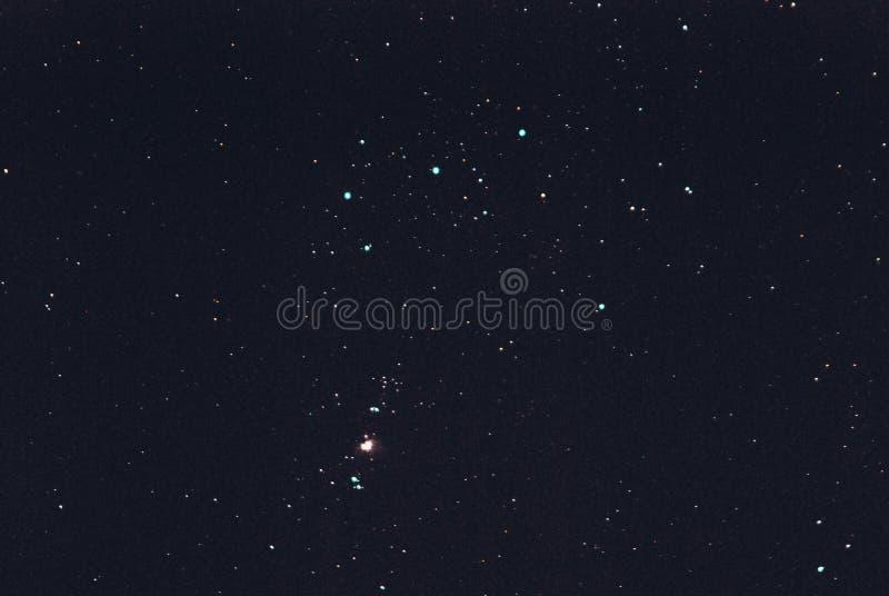 Orion& x27; s-Gurt lizenzfreie stockfotos