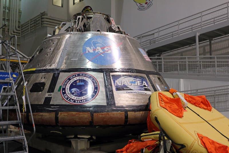 Orion Spacecraft Mockup royalty-vrije stock afbeeldingen
