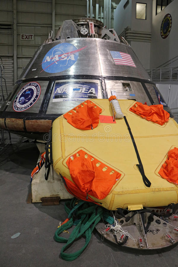 Orion Spacecraft Mockup photographie stock