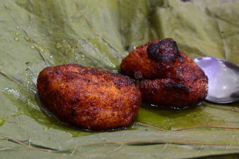 Oriya cukierki - Chenna jhilli fotografia stock