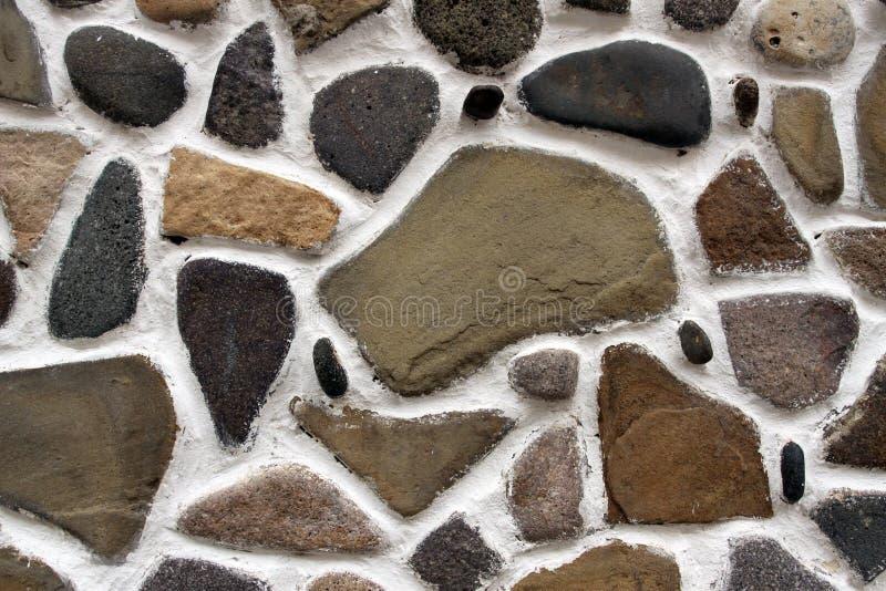 Orizzontale del fondo della parete di pietra fotografia stock libera da diritti
