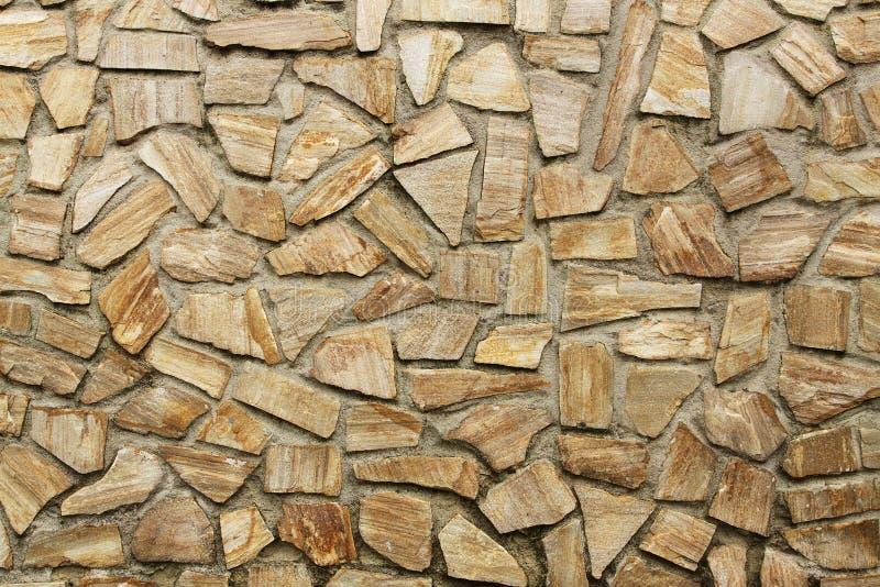 Orizzontale del fondo della parete di pietra immagine stock