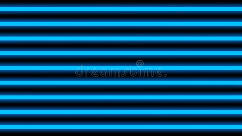 Orizzontale elegante blu del raggio luminoso per fondo, del fascio geometrico di lustro della luce della discoteca linee vertical illustrazione vettoriale