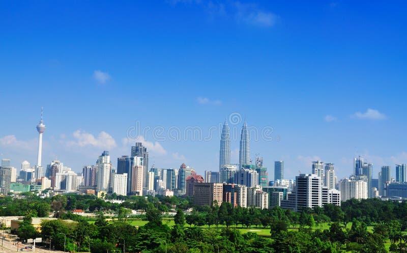 Orizzonte 02 di Kuala Lumpur fotografia stock