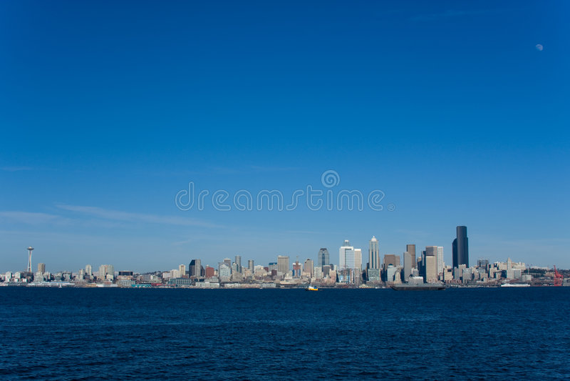 Orizzonte 1 di Seattle fotografie stock