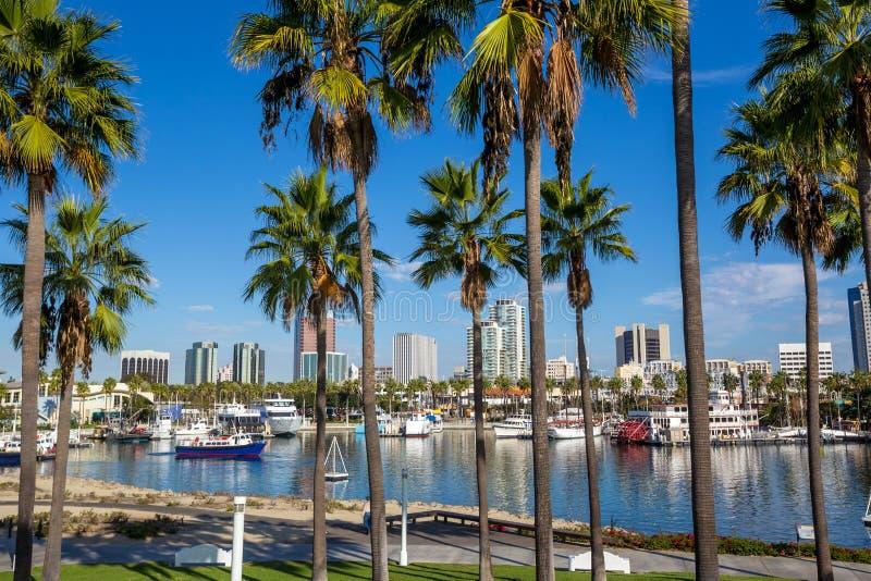 Orizzonte del centro di Los Angeles immagine stock