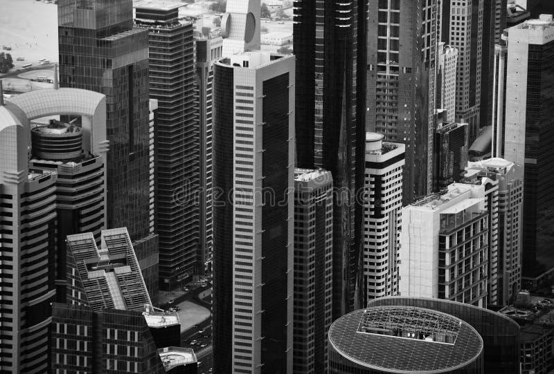 Orizzonte del Dubai immagine stock libera da diritti