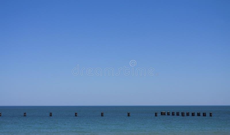 Orizzonte dell'acqua fotografie stock libere da diritti