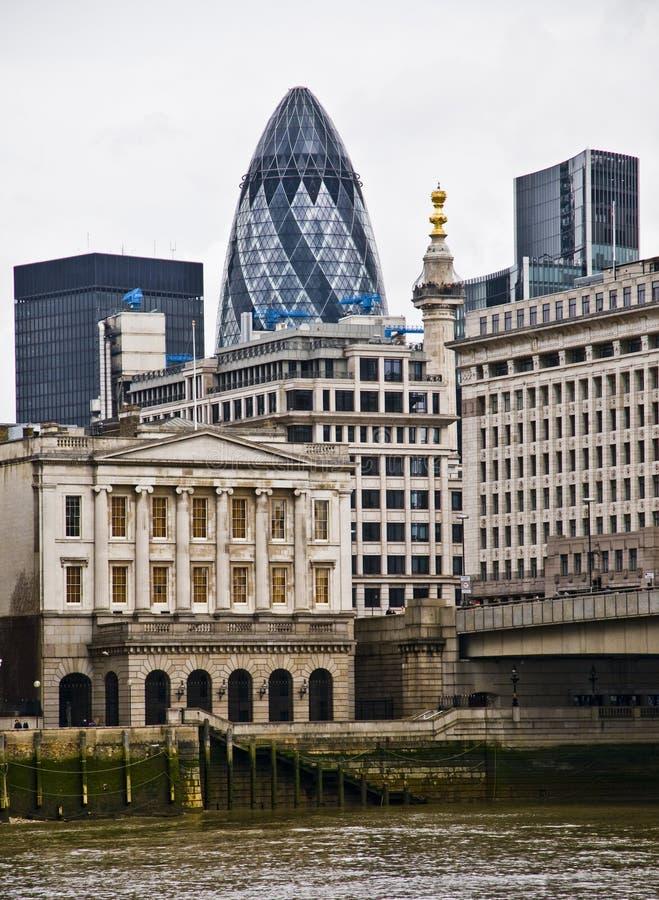 Orizzonte della città di Londra fotografie stock libere da diritti