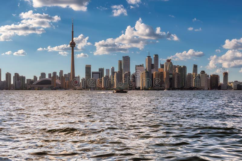 Orizzonte della citt? di Toronto fotografia stock