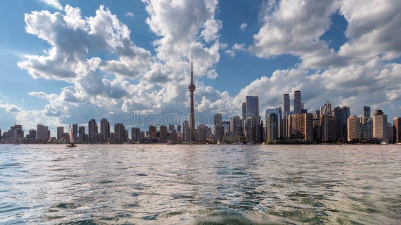 Orizzonte della citt? di Toronto fotografia stock libera da diritti