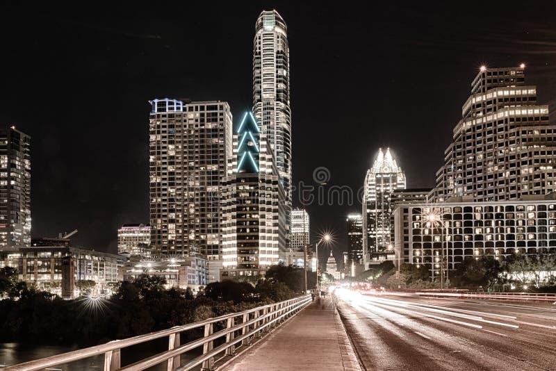 Orizzonte di Austin il Texas fotografia stock