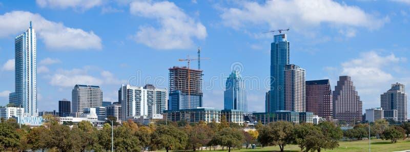 Orizzonte di Austin, il Texas fotografie stock libere da diritti