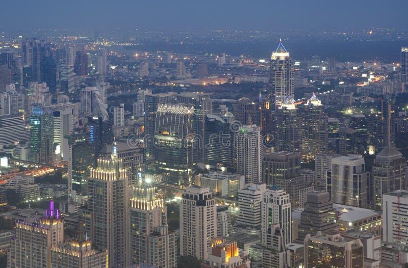 Orizzonte di Bangkok fotografia stock libera da diritti