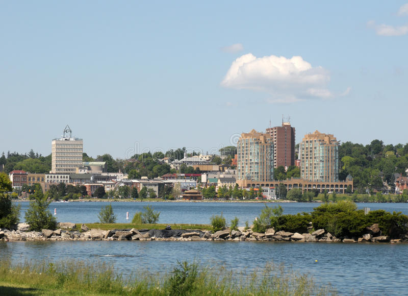 Orizzonte di Barrie, Ontario immagini stock