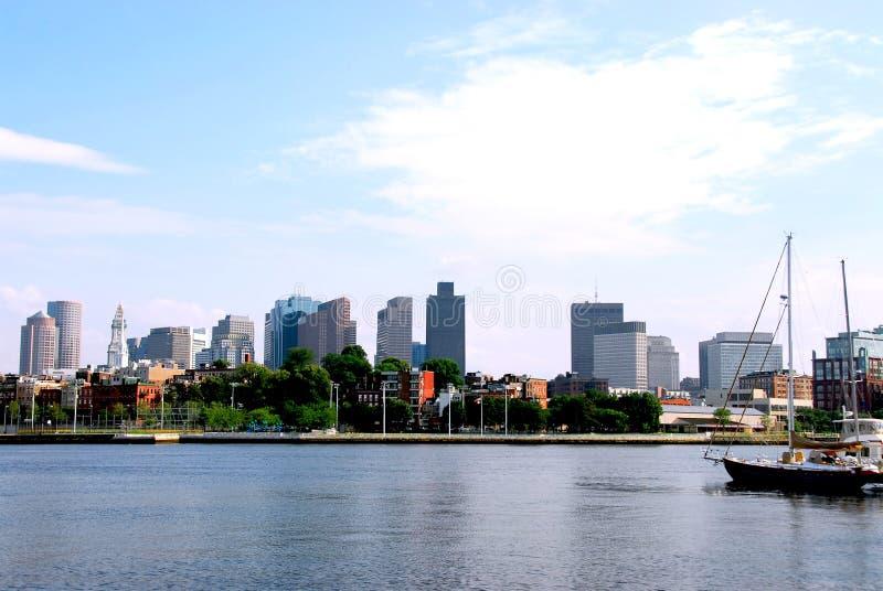 Orizzonte di Boston immagine stock libera da diritti