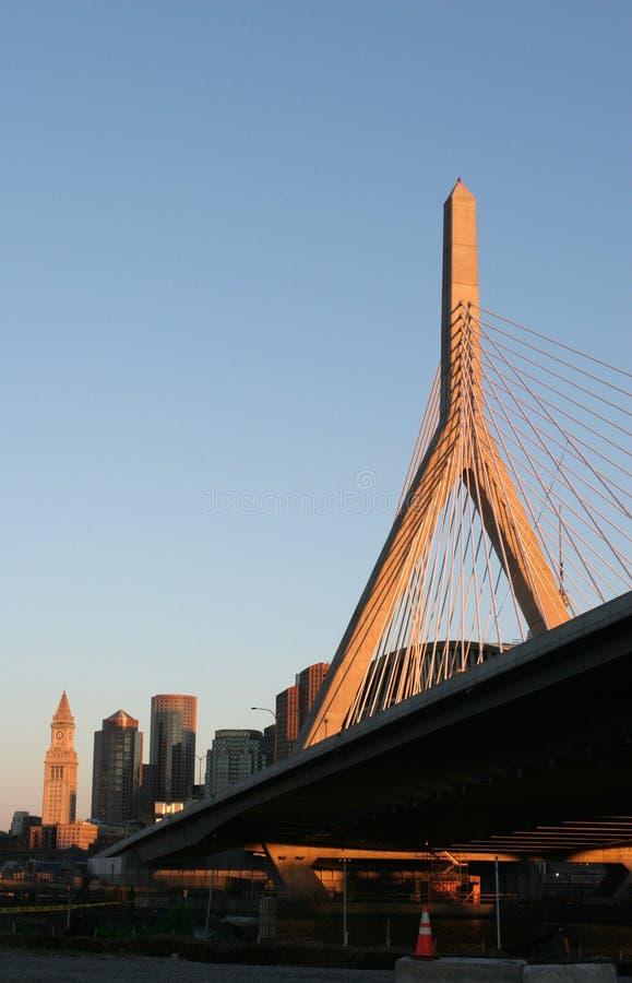 Orizzonte di Boston immagini stock libere da diritti