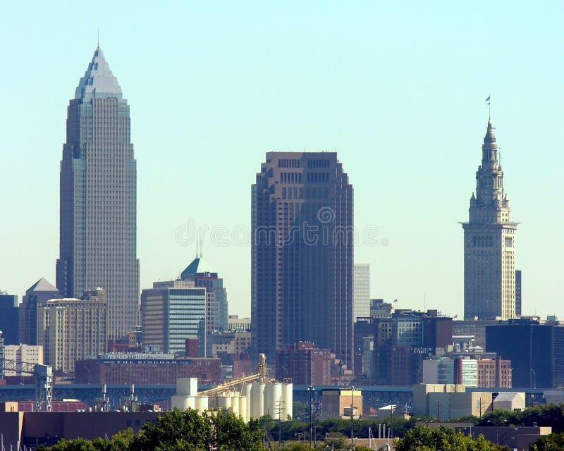 Orizzonte di Cleveland immagini stock libere da diritti