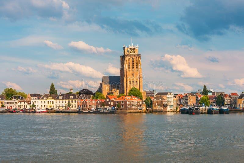 Orizzonte di Dordrecht Paesi Bassi fotografie stock
