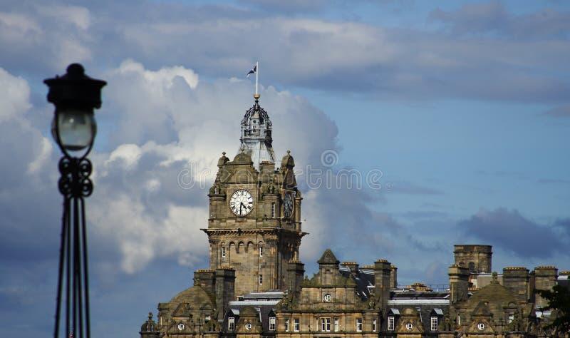 Orizzonte di Edimburgo, Scozia fotografia stock