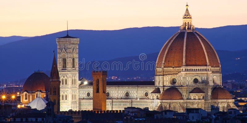 Orizzonte di Firenze (Firenze) immagine stock