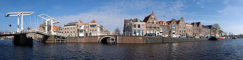 Orizzonte di Haarlem immagini stock
