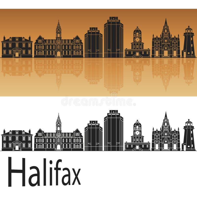 Orizzonte di Halifax V2 royalty illustrazione gratis