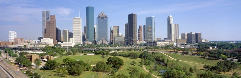 Orizzonte di Houston fotografie stock libere da diritti