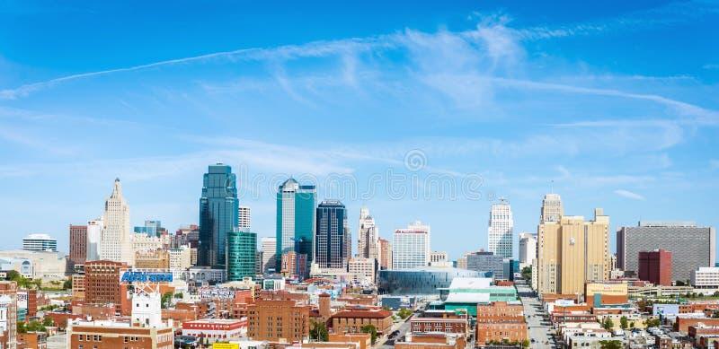 Orizzonte di Kansas City, Missouri immagine stock