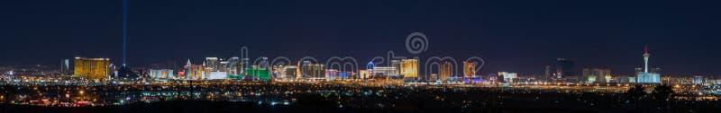 Orizzonte di Las Vegas immagine stock