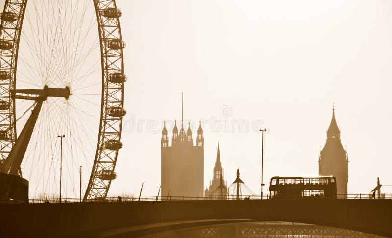 Orizzonte di Londra fotografia stock libera da diritti
