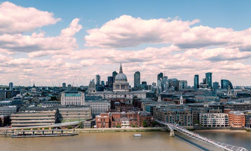 Orizzonte di Londra, Inghilterra, Gran-Bretagna, Regno Unito fotografie stock