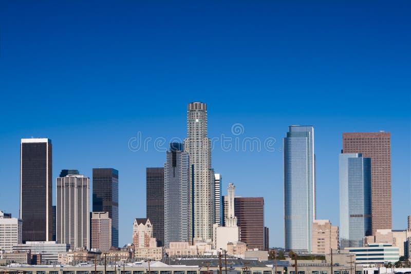 Orizzonte di Los Angeles fotografie stock libere da diritti