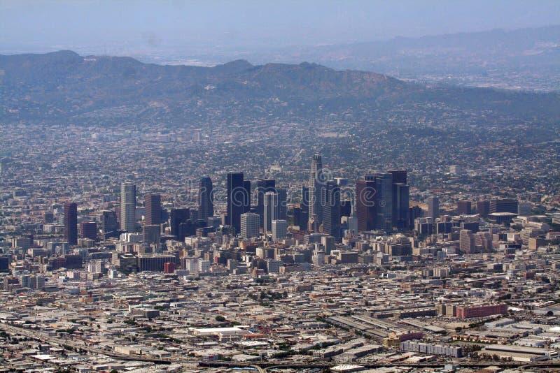 Orizzonte di Los Angeles fotografia stock libera da diritti