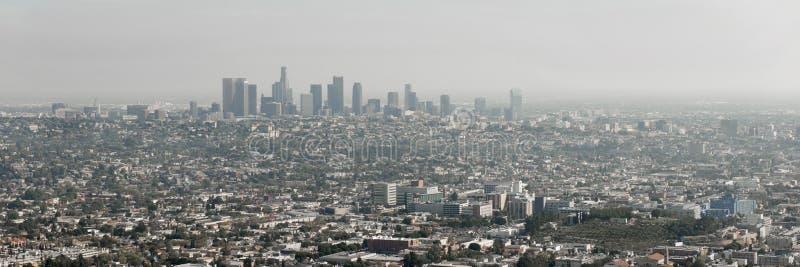 Orizzonte di Los Angeles, California fotografia stock libera da diritti