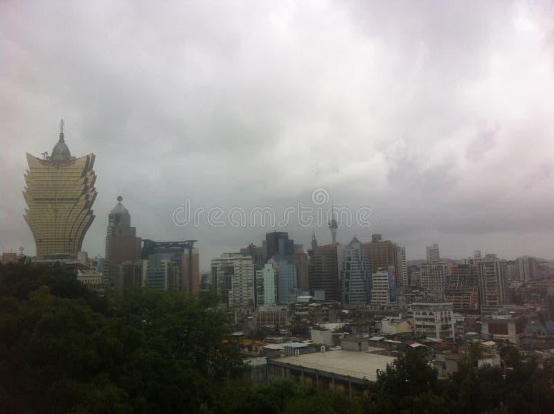 Orizzonte di Macao fotografia stock libera da diritti