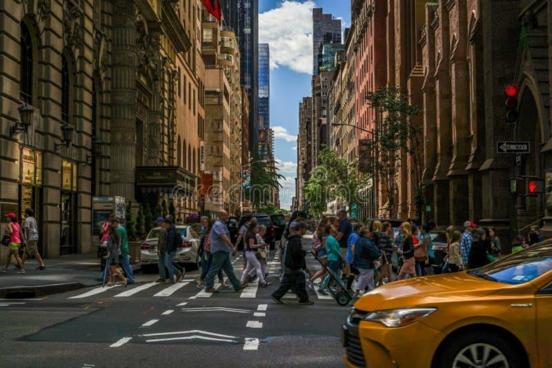 Orizzonte di Manhattan, New York fotografie stock