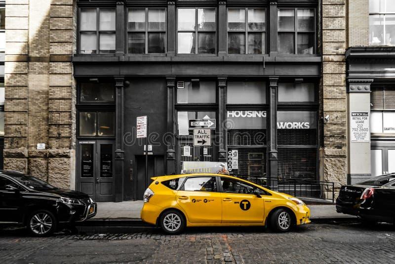 Orizzonte di Manhattan, New York fotografie stock libere da diritti