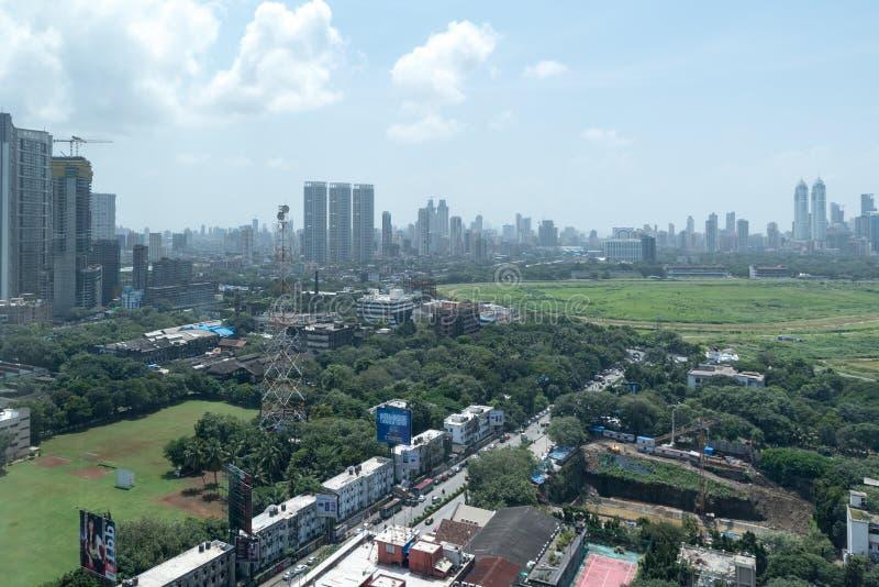Orizzonte di Mumbai fotografia stock