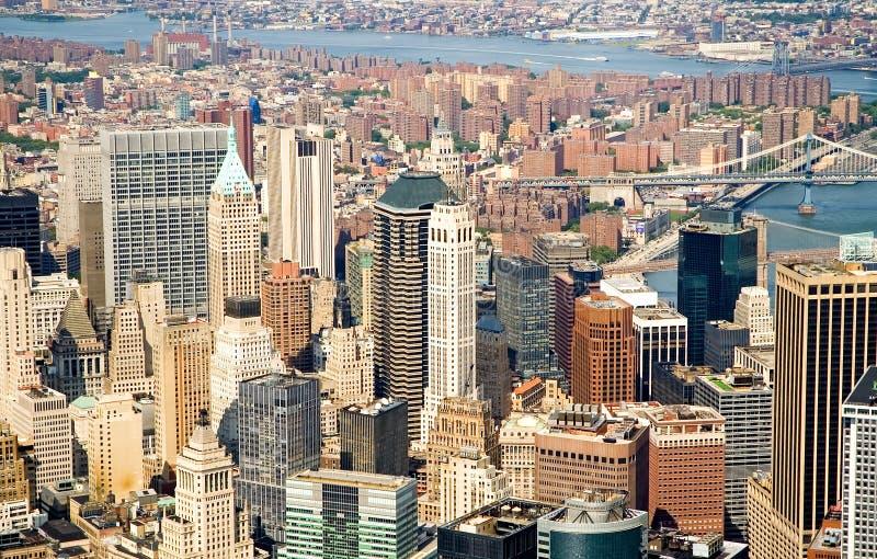 Orizzonte di New York City fotografia stock