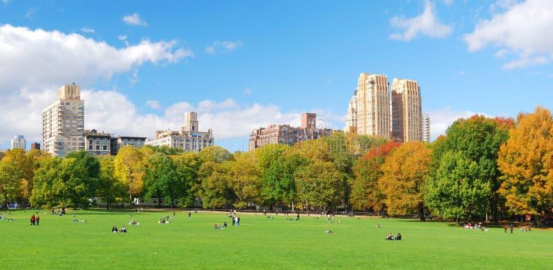 Orizzonte di New York City Manhattan immagine stock libera da diritti