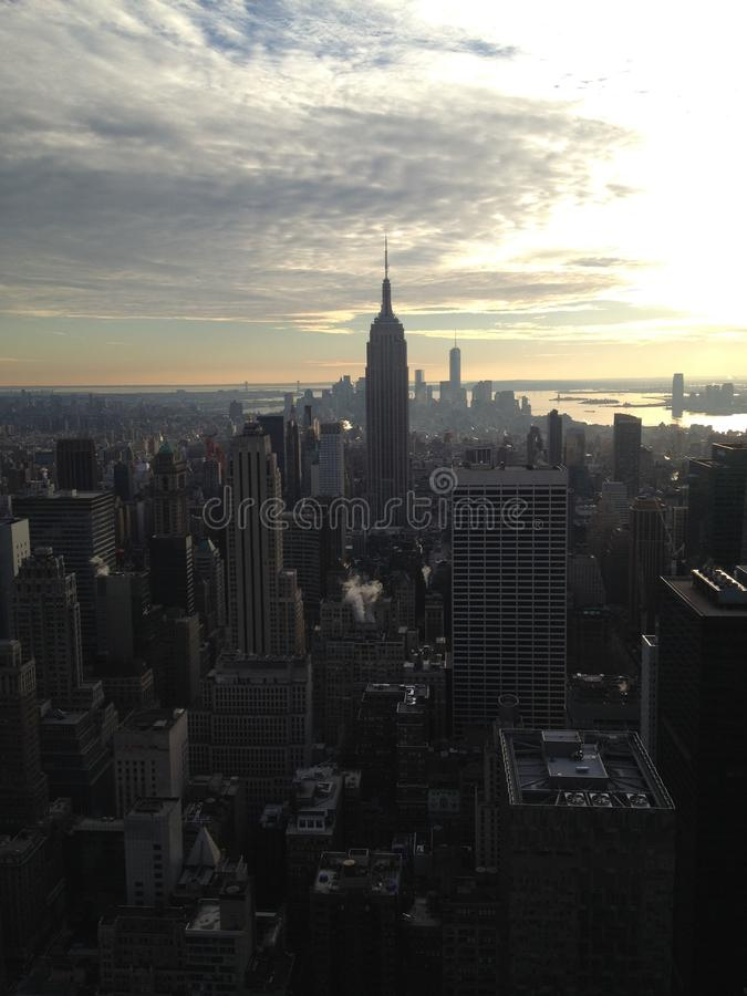 Orizzonte di New York - Manhattan immagine stock libera da diritti