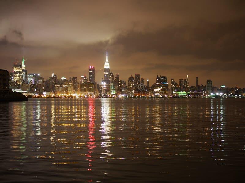 Orizzonte di NYC immagine stock